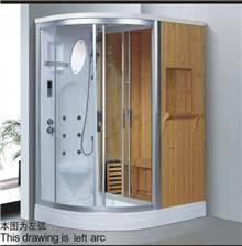 מקלחון עיסוי משולב סאונה דגם 8851 - יבוא 4 יו