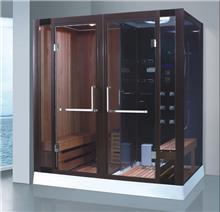 מקלחון עיסוי משולב סאונה ענק דגם 8862 - יבוא 4 יו