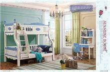 חדר ילדים מעוצב+מיטת קומותיים
