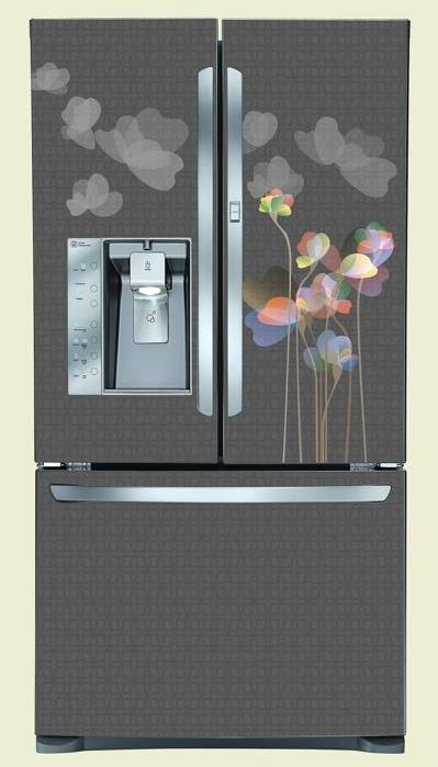 מגנט למקרר מעוצב פרחים
