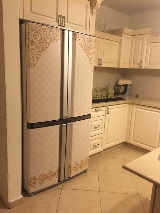 מגנט מעוטר למקרר