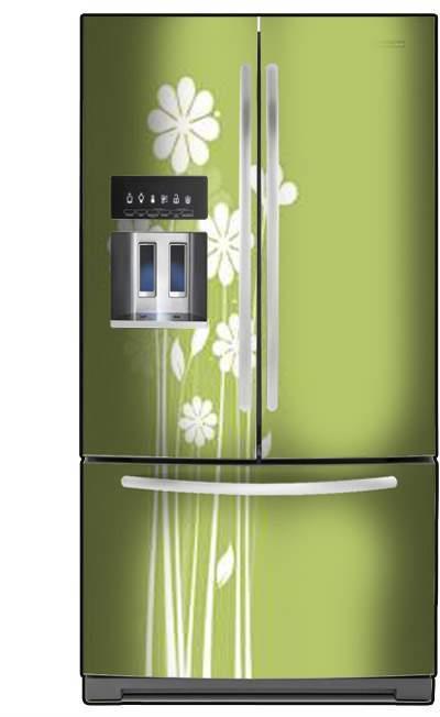 מגנט למקרר פרחים