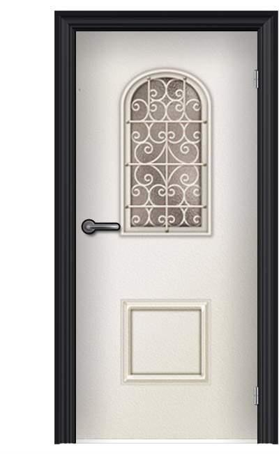 ציפוי דלת מהודר לבן