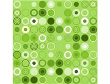 טפט עיגולים ירוקים