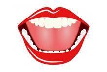 טפט שפתיים אדומות