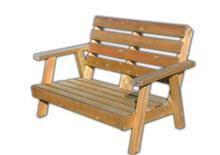 ספסל עץ מהודר