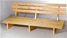 ספסלי עץ לפינת זולה