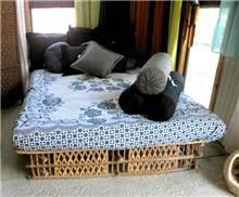 כיסוי מיטה ארוג איכותי