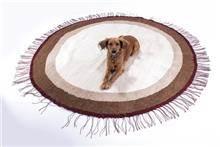 שטיח קילים עגול טבעי