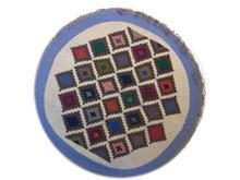 שטיח קילים עגול מעויינים