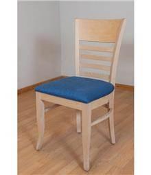 כסא ריפוד כחול