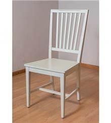 כסא עץ מלא אלון