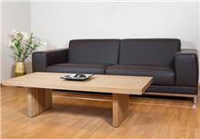 שולחן סלון עץ מלא אלון