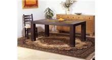 שולחן אוכל מעץ אורן מלא