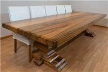 שולחן אבירים אגוז אפריקאי