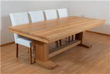 שולחן אוכל עץ טבעי