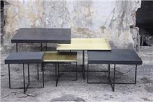 שולחן מרובע - פנטהאוז BASIC