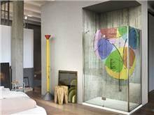 חיפוי זכוכית צבעוני - א.ישראלי