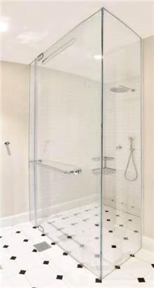 מקלחון פינתי קבוע/דלת IG11192 - א.ישראלי