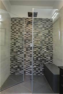 מקלחון חזית קבוע+דלת IG11175