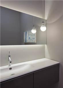מראה מרחפת לחדר האמבטיה 50X120 - א.ישראלי
