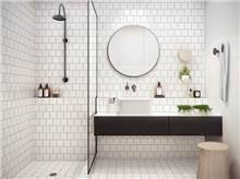 """מראה עגולה מרחפת לחדר האמבטיה 5 מ""""מ - א.ישראלי"""