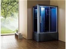מקלחון פינתי כחול