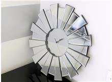 שעון קיר מראה - רקפת ספיר R.H.S