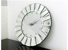 שעון עגול לקיר - רקפת ספיר Home Design