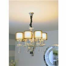 מנורת תקרה 8 קנים - רקפת ספיר R.H.S