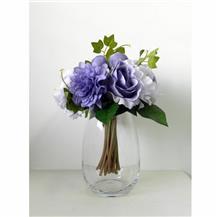 בוקט פרחים מיקס סגול