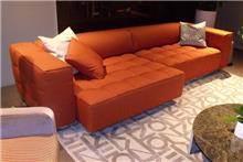 ספה כתומה