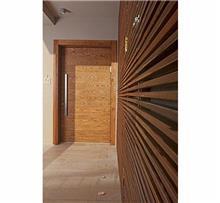 דלת כנף לחזית בית