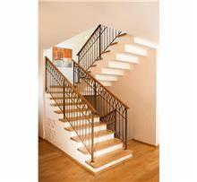 מדרגות עץ אלון מלא