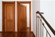 דלת פנים עץ מלא