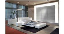 חדר שינה מפואר לבן - רוזטו רהיטים - Rossetto