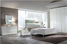 חדר שינה קומפלט לבן - רוזטו רהיטים - Rossetto