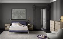 מיטה זוגית מרופדת P201 - רוזטו רהיטים - Rossetto