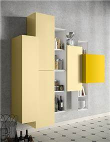 ארון אחסון תלוי ומעוצב - רוזטו רהיטים - Rossetto