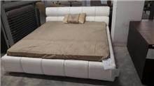 מיטה זוגית מרופדת - רוזטו עודפים