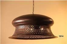 מנורת תליה חומה