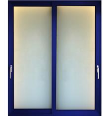 דלת פרופיל אלומיניום הזזה