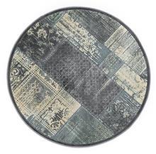 שטיח עגול ויסקוזה דהוי