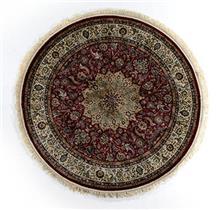 שטיח עגול אספהן משי 144