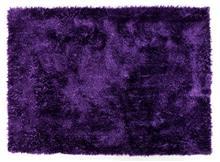 שטיח שאגי ברוז' סגול כהה
