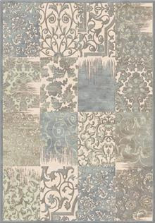 שטיח מלבנים בהיר