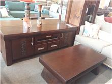 שולחן עץ סלוני