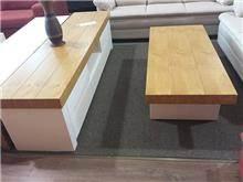 מזנון ושולחן עץ לסלון