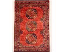 שטיח אפגני כתום - שטיחי אלי ששון