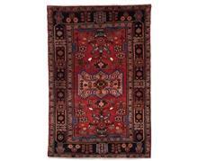 שטיח כחול אדום